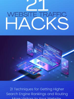 Cover - 21 Website Traffic Hacks