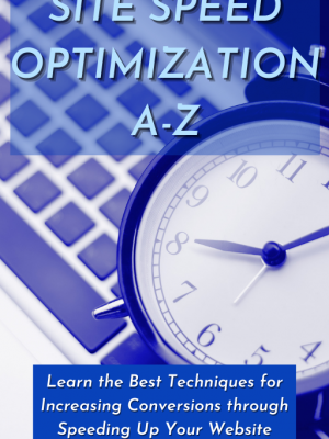 Cover - Site Speed Optimization A-Z